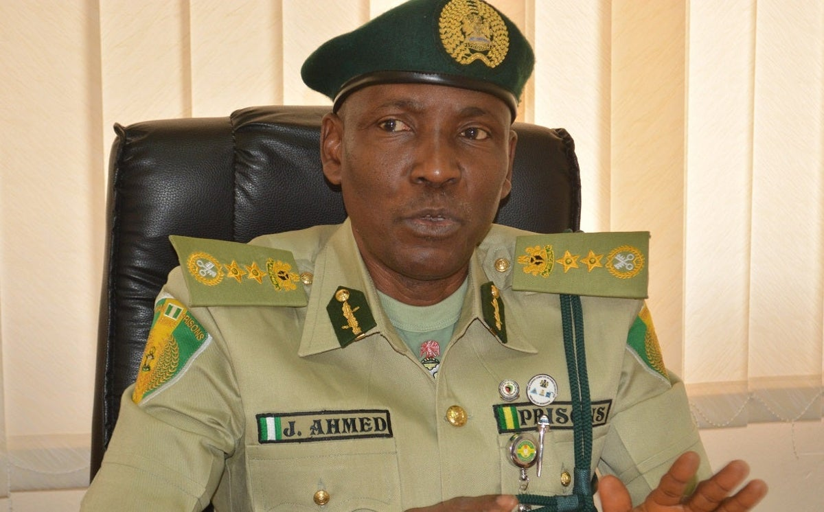NCoS Comptroller General (CG), Mr Ja'afaru Ahmed