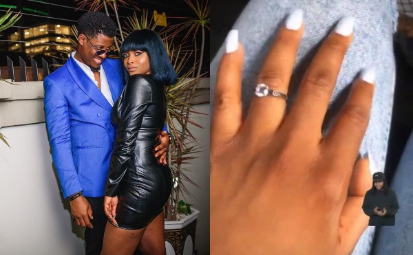 Seyi and girlfriend are engaged