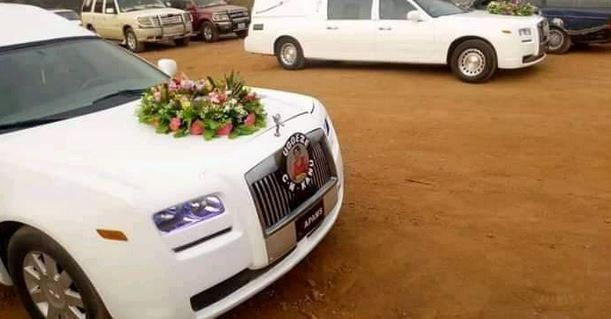 Image result for Excitement As The Bodies Of Nnamdi Kanu's Parents Leave Mortuary In Style Ahead Of Burial (Photos)