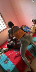 Girlfriend joins boyfriend to beat her sidechick