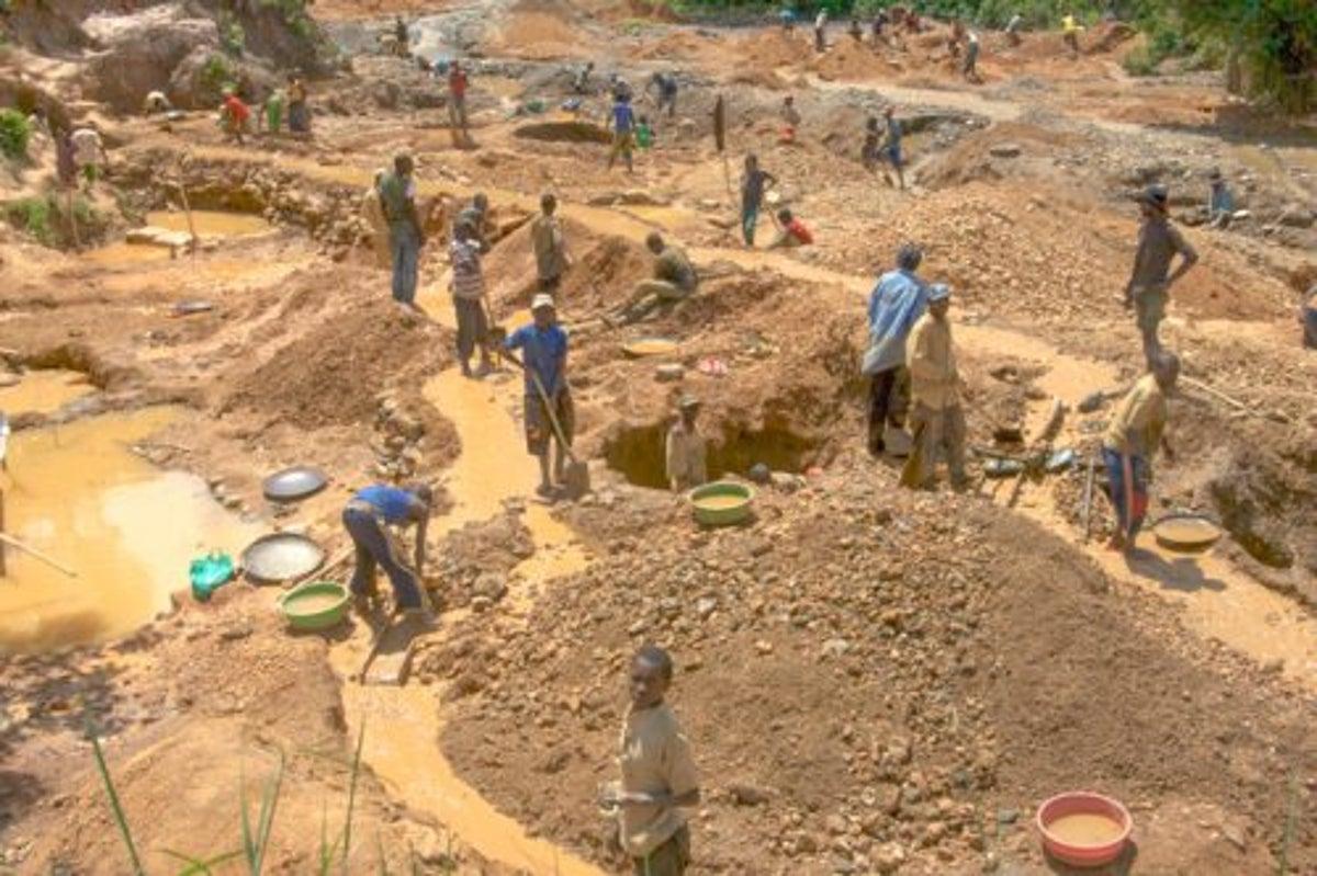 Kano mining site
