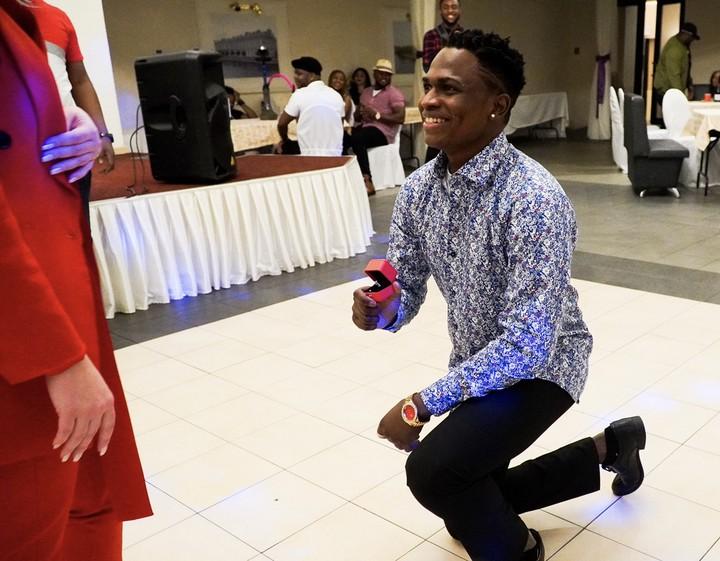 Nigerian artiste proposes