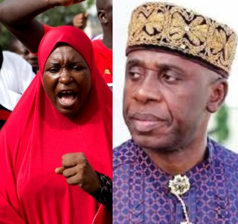 Aisha Yesufu attacks Nigeria's minister of transportation, Rotimi Amaechi for lying