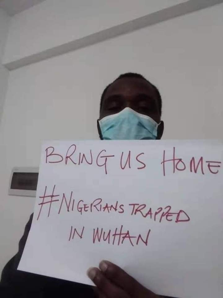 Coronavirus: Nigerians Trapped In Wuhan, China Cry Out 'Bring Us Home' (Photos)