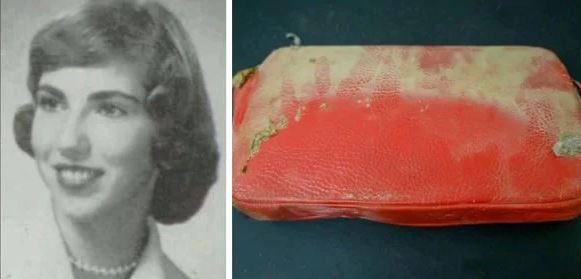 Take A look At The Content Of Missing Purse Lost In 1957 And Found In 2019 Inside School Wall