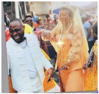 Davido traditionally weds Chioma