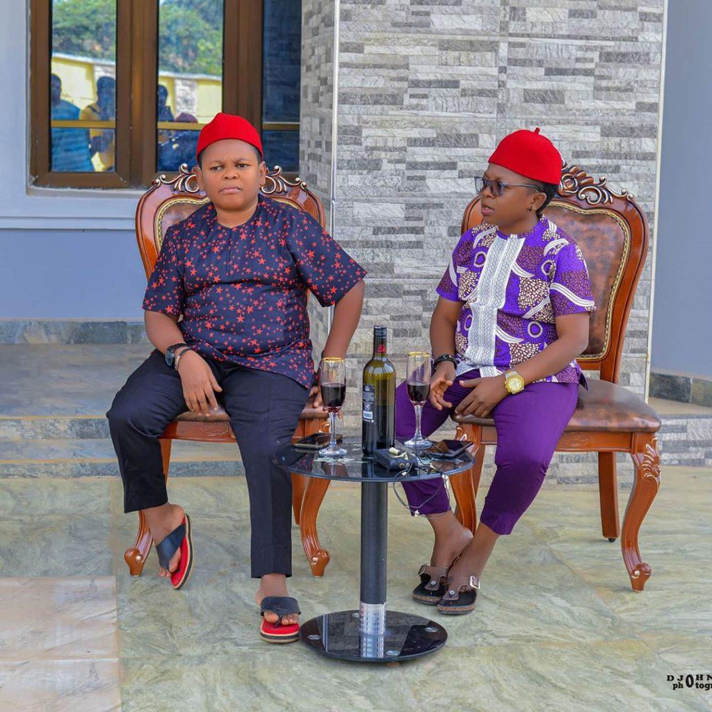 Osita Iheme and Chinedu Ikedieze