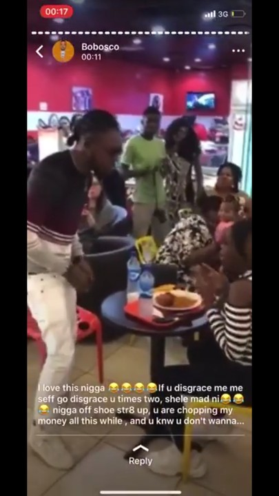 Man proposes to his girlfriend, she says no.