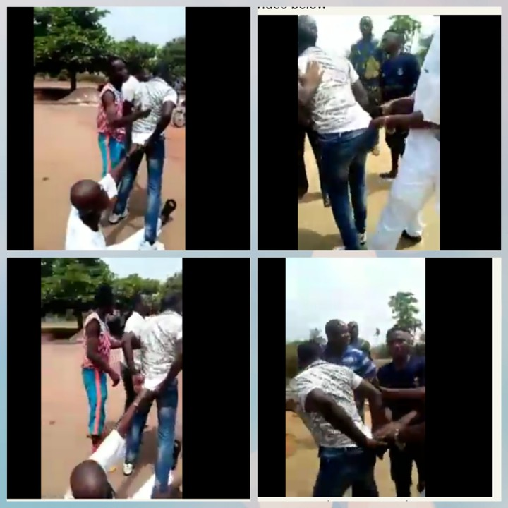 'You Must Kill Me Too'- Father Of Dead Footballer Holds SARS Officer Who Killed His Son (Video) 1