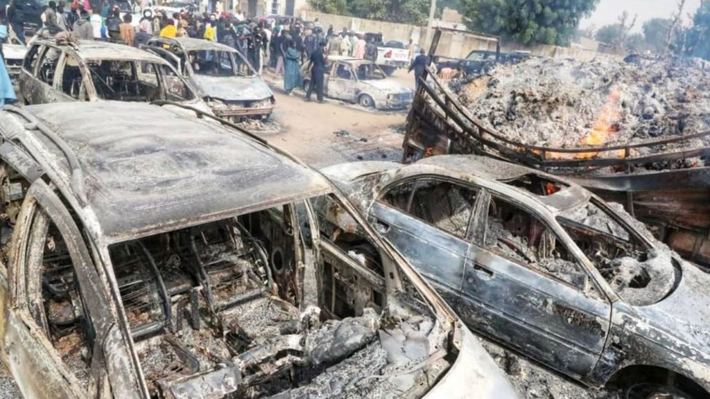 Boko Haram Threw An Innocent Child Into A Burning Vehicle
