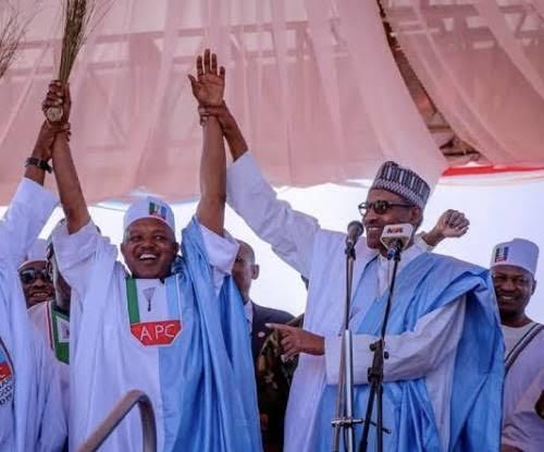 President Buhari and Bagudu