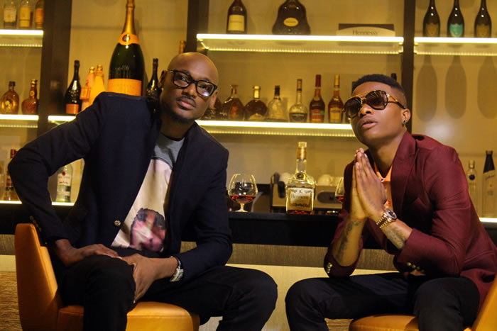 Photo of 2baba and Wizkid