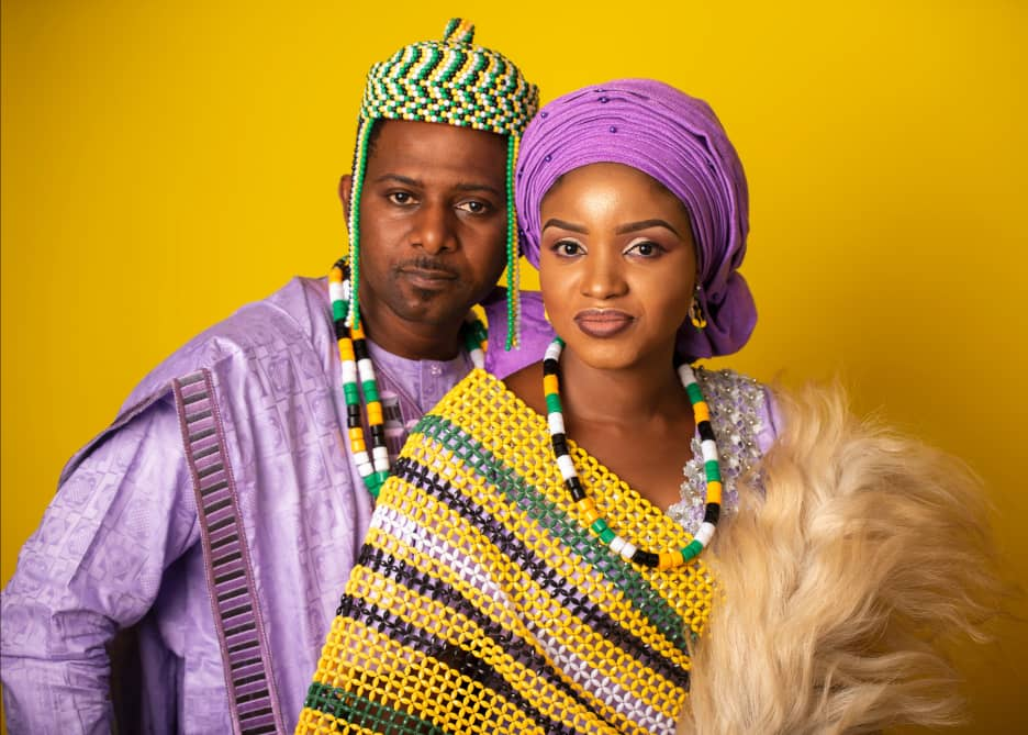 Victor Baba Okpanachi and his beautiful fiancee