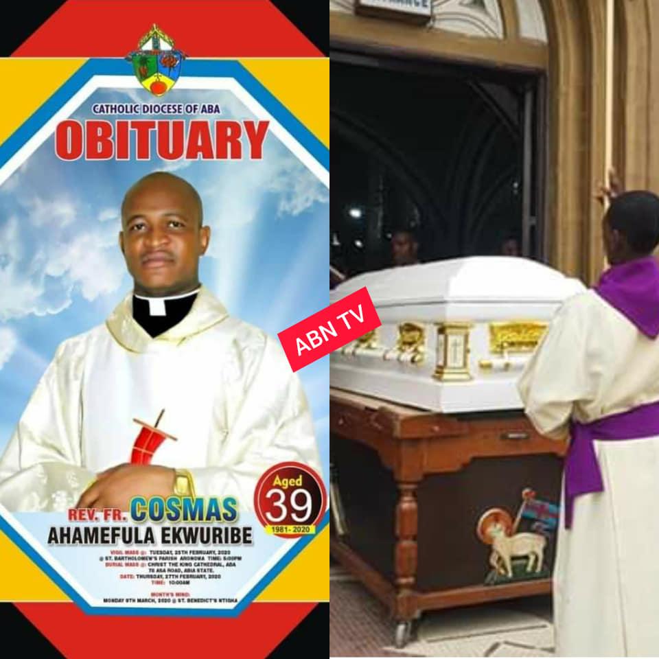 Rev. Fr. Cosmas Ahamefula Ekwuribe