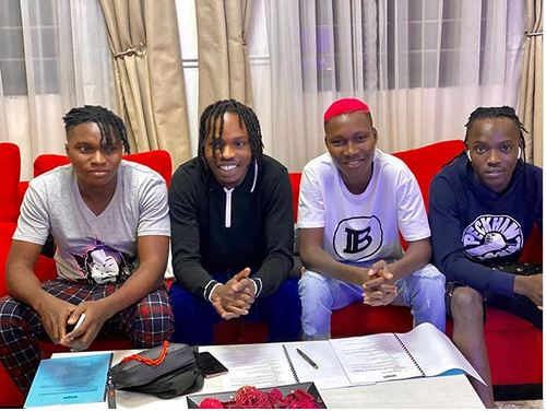 Naira Marley and his new signees