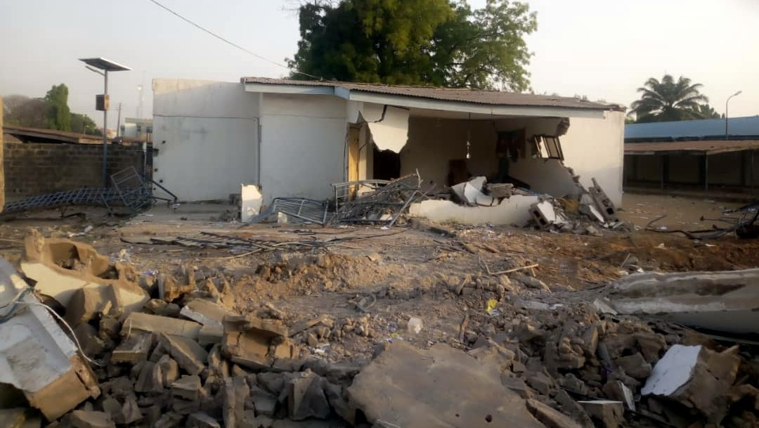 Saraki building demolished by the state government