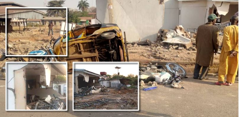 Saraki's house demolished
