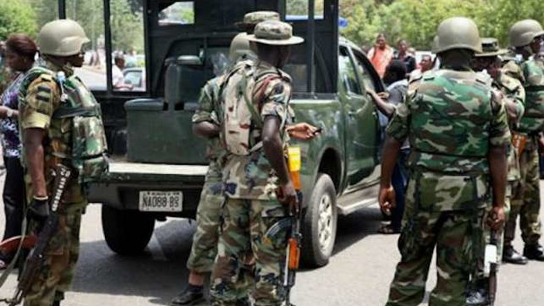Nigerian soldier on stabbing spree
