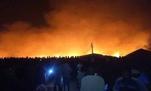 Oyo town fire