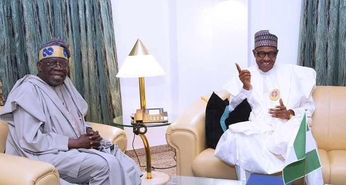 Buhari and Tinubu meet