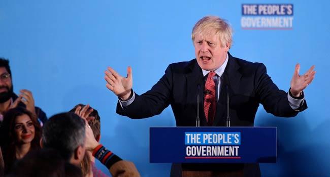 UK Prime Minister, Boris Johnson
