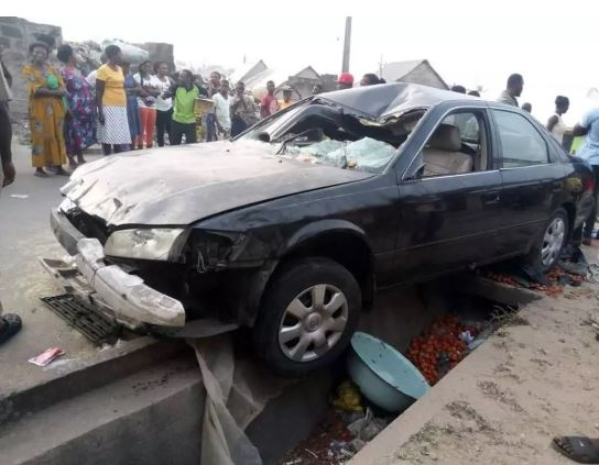 Car accident, cross River