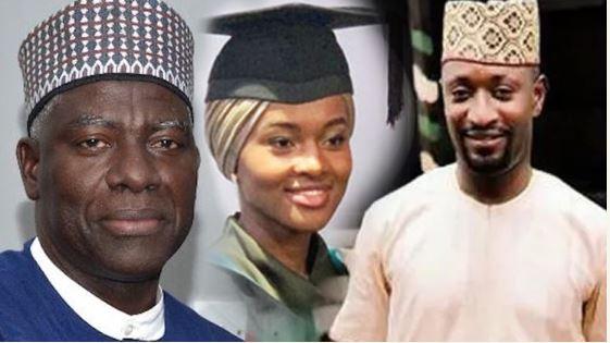 DSS boss, Hanan Buhari, Anthony Okolie