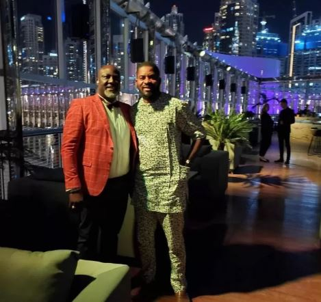 Dino Melaye throws birthday bash in Dubai