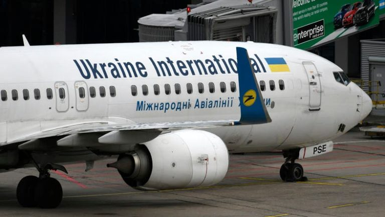 Ukrainian plane crashes in Iran