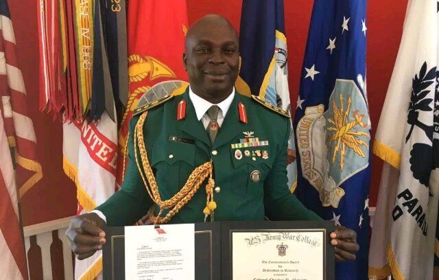 Nigerian Brigadier General, Charles Nengite