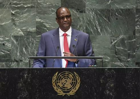 South Sudanese First Vice President Taban Gai