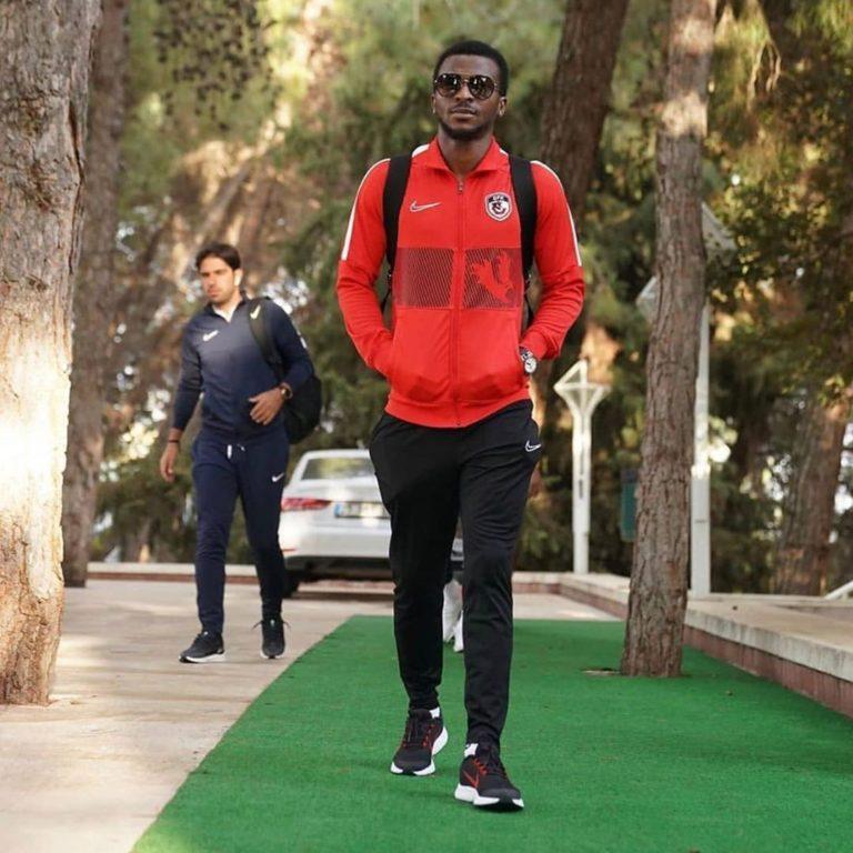 Super Eagles star Olarenwaju Kayode