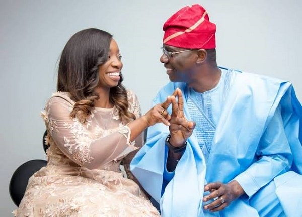 Sanwo-Olu celebrates wife