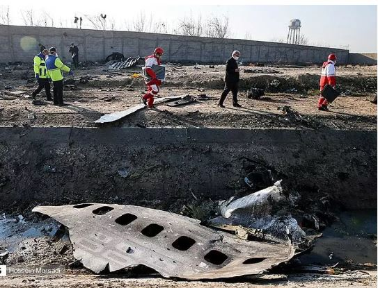Ukraine crash site