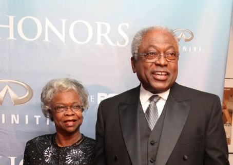 James E. Clyburn and wife