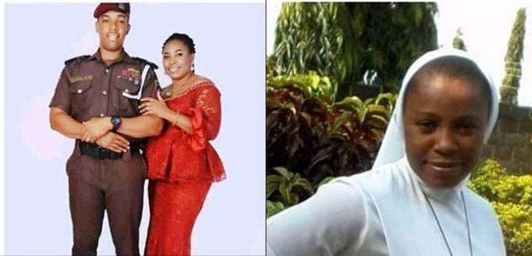 Uzo Martins and wife, Joan Chinyere