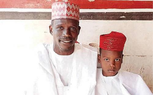 Salisu Mohammed and son, Kwankwaso