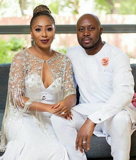 Dakore Eguson and hubby, Olumide Akande