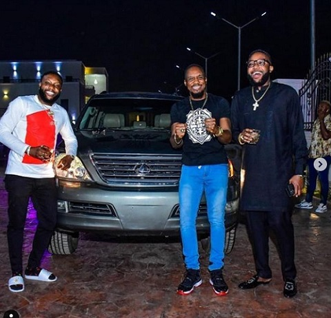 KCee, Junior Pope and E-Money
