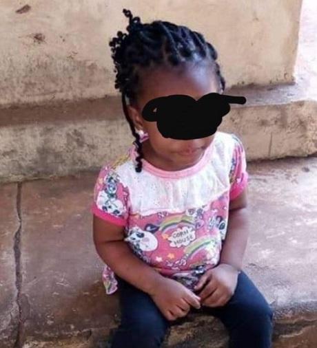 Little girl allegedly strangled to death
