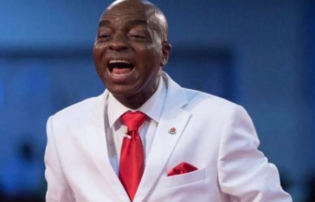 Founder and General Overseer of the Living Faith Church a.k.a Winners Chapel, Bishop David Oyedepo