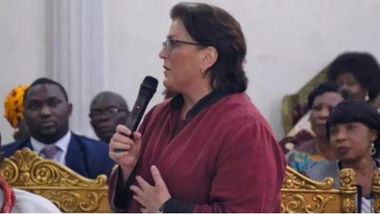 U.S. Consul General Claire Pierangelo