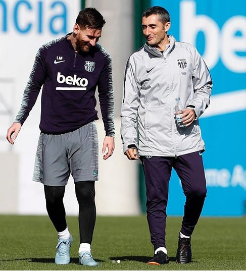 Messi and Valverde