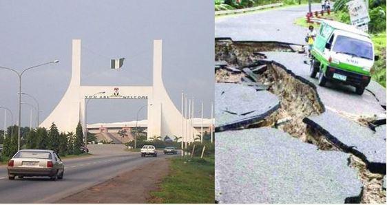 Abuja, Earth tremor