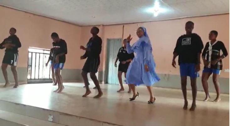 Catholic Reverend Sister, dance