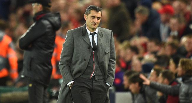 Coach Ernesto Valverde