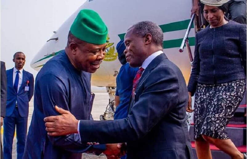 Osinbajo and Ihedioha