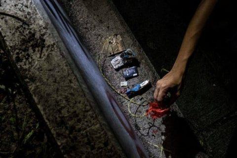 Hong Kong protesters now making bombs