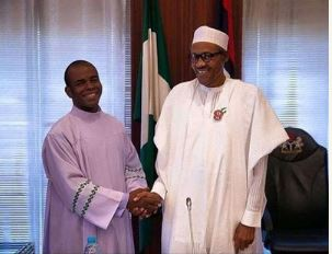 Father Mbaka and President Muhammadu Buhari