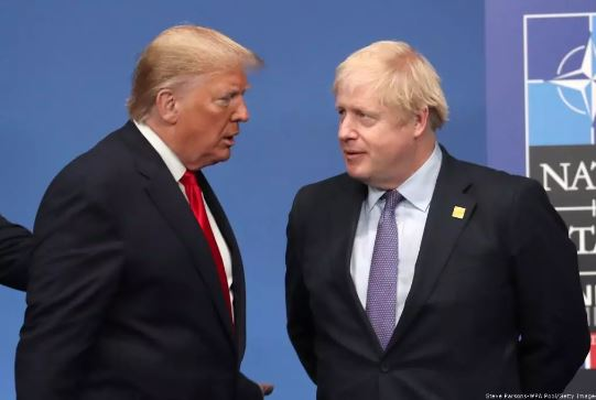 President Donald Trump, Prime Minister Boris Johnson
